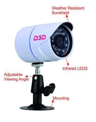 D3D AHD DVR 4CH 1080P 06
